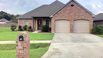 Carencro Single Family Home For Sale: 210 Rue Envie