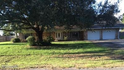 New Iberia Single Family Home For Sale: 1512 Ryan Avenue