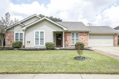 Broussard Single Family Home For Sale: 213 Bull Run Circle Circle