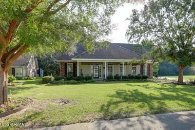 St Martinville, Breaux Bridge, Opelousas Single Family Home For Sale: 2303 Sandalwood Drive