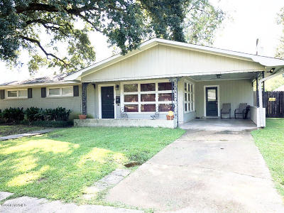 Opelousas Single Family Home For Sale: 1510 Holly Drive