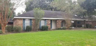Lafayette Single Family Home For Sale: 112 Japonica Drive