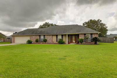 New Iberia Single Family Home For Sale: 3308 Schwing Road