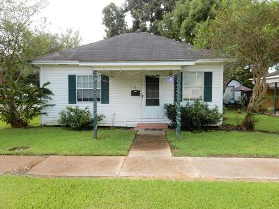 Abbeville Single Family Home For Sale: 1604 Charity Street