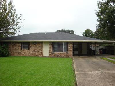 Eunice Single Family Home For Sale: 1430 Athabaska Street