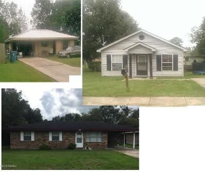 Carencro Multi Family Home For Sale: 303 Auburn Drive