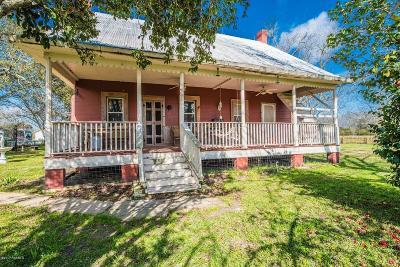 St Martinville, Breaux Bridge, Opelousas Single Family Home For Sale: 2352 Prairie Ronde