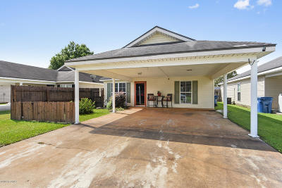 Lafayette Single Family Home For Sale: 204 Common Pointes Drive