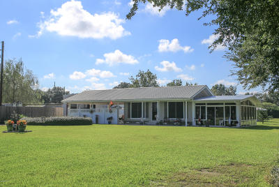 New Iberia Single Family Home For Sale: 5203 Hwy 14