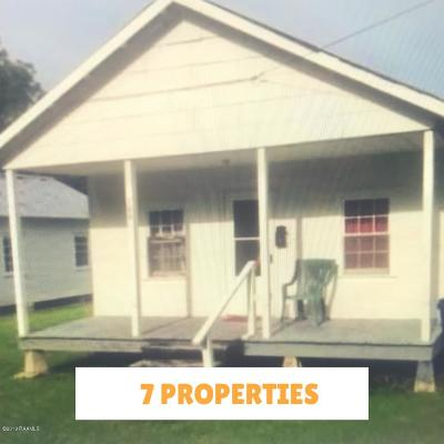 St Martinville, Breaux Bridge, Abbeville Multi Family Home For Sale: 700 Hawthorne Street
