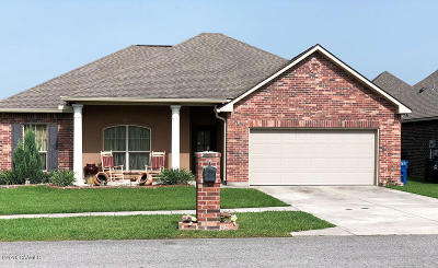 Carencro Single Family Home For Sale: 102 Vermont Drive