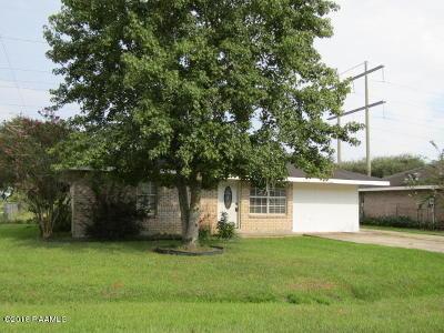 Duson Single Family Home For Sale: 101 Ridge Crest Lane