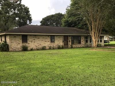 Carencro Single Family Home For Sale: 420 Braquet Road
