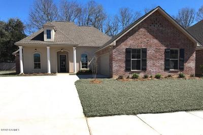 Broussard Single Family Home For Sale: 113 Bowen Lane