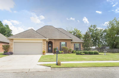 Carencro Single Family Home For Sale: 200 Fieldview Drive