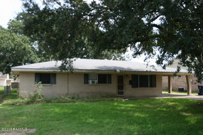 Crowley Single Family Home For Sale: 1220 Lake Avenue