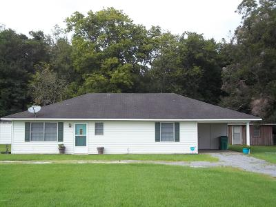 Abbeville Single Family Home For Sale: 1205 Meaux Lane