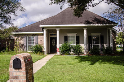 Broussard Single Family Home For Sale: 119 Tulip Tree Lane