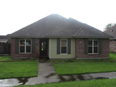 New Iberia Single Family Home For Sale: 1818 Daspit Road