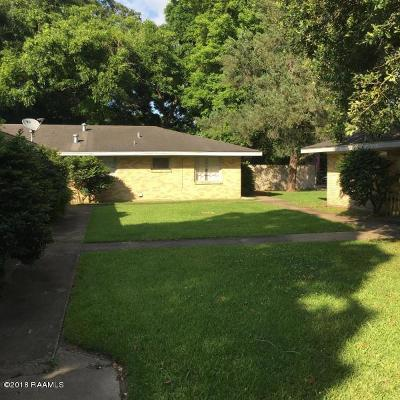 Lafayette Rental For Rent: 1700 W St. Mary Boulevard #D