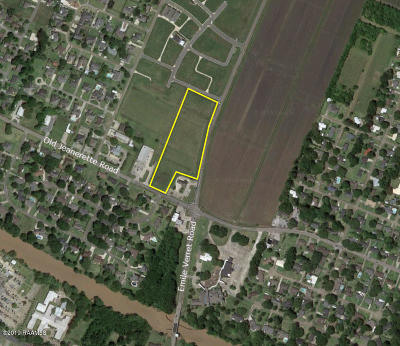 New Iberia Residential Lots & Land For Sale: Old Jeanerette/Emile Verret Road