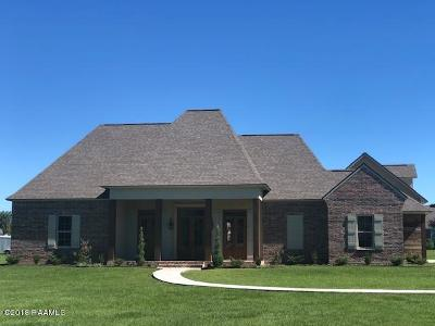 Carencro Single Family Home For Sale: 105 Azarex Road