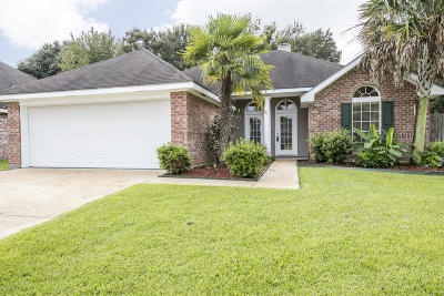Broussard Single Family Home Active/Contingent: 402 Pear Tree Circle