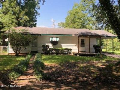 Single Family Home For Sale: 609 E Huey P Long Street