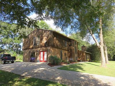 Arnaudville Single Family Home For Sale: 34 Hidden Hills Road