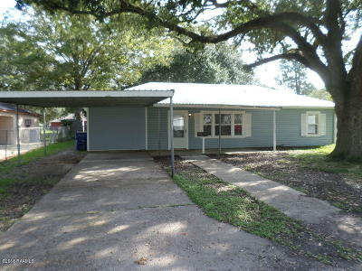Crowley Single Family Home For Sale: 210 Taylor Avenue