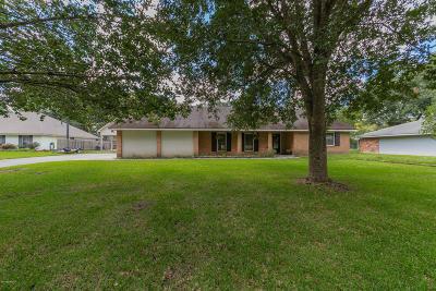 Lafayette Single Family Home For Sale: 605 E Bayou Parkway