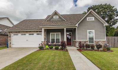 Carencro Single Family Home For Sale: 100 Oak Path Drive