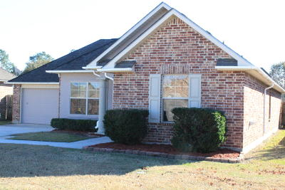 Carencro Single Family Home For Sale: 211 Rue Envie