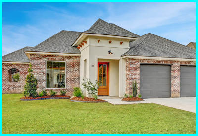 Broussard Single Family Home For Sale: 101 Barolo Drive