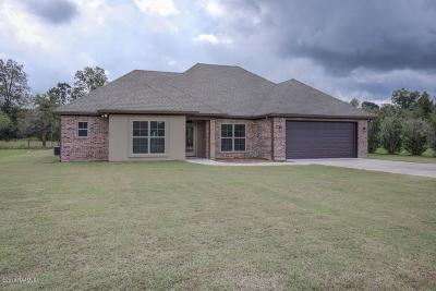 St. Martinville Single Family Home For Sale: 1051 Bunker Drive