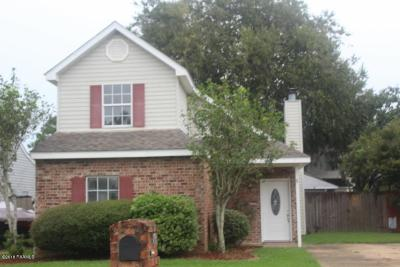 Single Family Home For Sale: 400 Row One