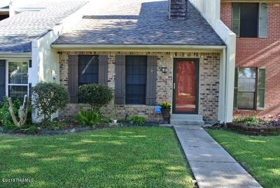 New Iberia Single Family Home For Sale: 253 Woodland Circle