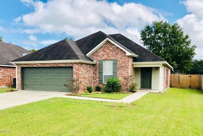 Youngsville Single Family Home For Sale: 449 Chemin Metairie Road