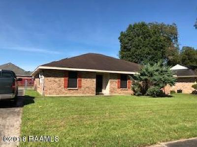 Lafayette Single Family Home For Sale: 217 Briarwood Drive