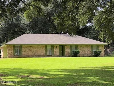 Lafayette  Single Family Home For Sale: 104 Saint Rita Street