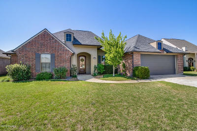Scott Single Family Home For Sale: 107 Thomas Oak Dr.