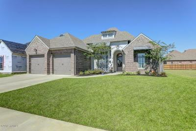 Broussard Single Family Home For Sale: 104 Dockside Drive