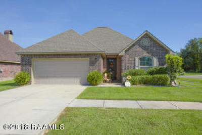 Carencro Single Family Home For Sale: 225 Wisteria Bend Circle