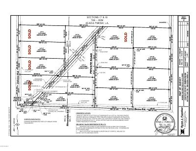 Acadia Parish Residential Lots & Land For Sale: Lot 10 Trudell Lane