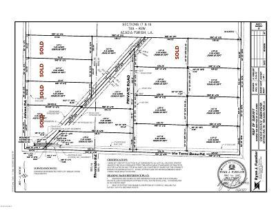 Acadia Parish Residential Lots & Land For Sale: Lot 13 Vie Terre Beau Lane