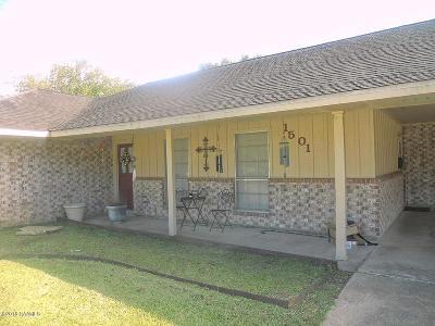 Eunice Single Family Home For Sale: 1501 W Elm Street