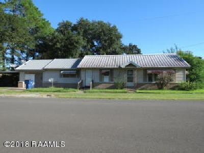 Vermilion Parish Single Family Home For Sale: 706 W Second Street