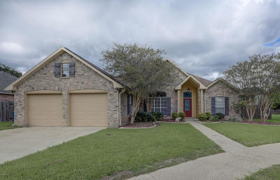 Carencro Single Family Home For Sale: 104 Rue Colombe