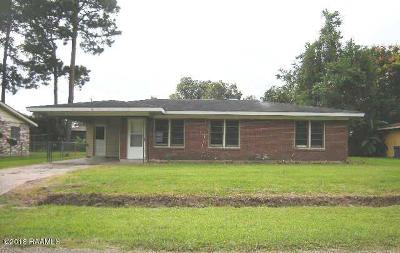 Carencro Single Family Home For Sale: 105 Auburn Drive