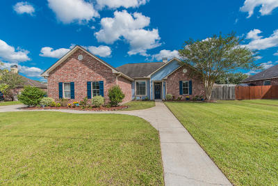 Carencro Single Family Home For Sale: 304 Deer Valley Lane